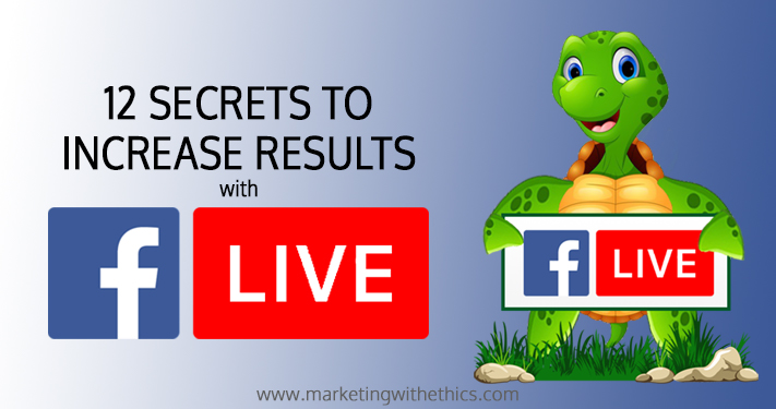 12 secrets facebook live