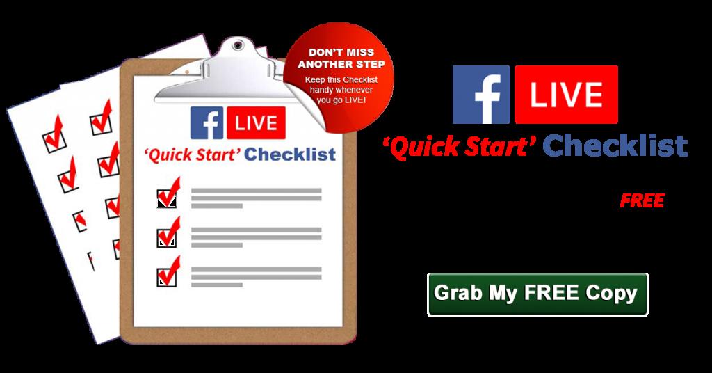 FB LIVE Checklist