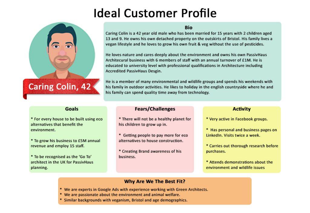 Ideal customer persona