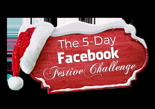 The Facebook Festive Challenge sign